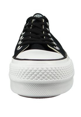 Converse Chucks Plateau Black 560250C Chuck Taylor All Star Lift - OX Black White White – Bild 5