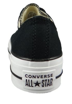 Converse Chucks Plateau Black 560250C Chuck Taylor All Star Lift - OX Black White White – Bild 3