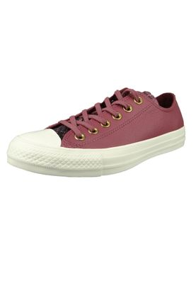 Converse Chucks Wine Red 561701C Chuck Taylor All Star OX Vintage Wine Black Egret – Bild 1