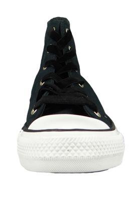 Converse Chucks 561704C Schwarz CHUCK TAYLOR ALL STAR HI Black Black White – Bild 5