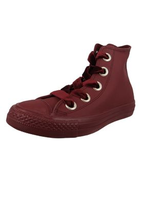 Converse Chucks Weinrot 561687C Chuck Taylor All Star Big Eyelets HI Dark Burgundy – Bild 1