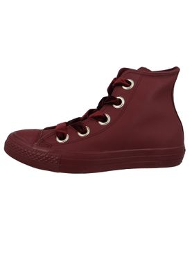 Converse Chucks Weinrot 561687C Chuck Taylor All Star Big Eyelets HI Dark Burgundy – Bild 3