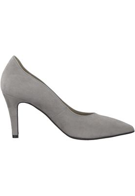Tamaris 1-22434-21 254 Damen Light Grey Grau Leder Pumps – Bild 2