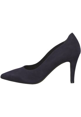 Tamaris 1-22434-21 805 Damen Navy Blau Leder Pumps – Bild 3