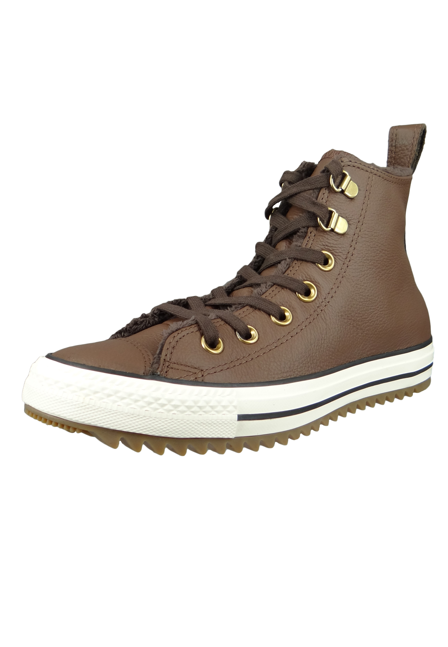 df370556f9dd13 Converse Chucks 161514C Braun CHUCK TAYLOR ALL STAR Hiker Boot HI Chocolate  Egret Gum