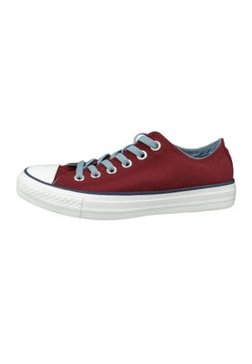 Converse Chucks 161426C Weinrot Chuck Taylor All Star OX Dark Burgundy Washed – Bild 2
