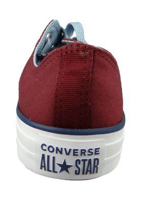 Converse Chucks 161426C Weinrot Chuck Taylor All Star OX Dark Burgundy Washed – Bild 3
