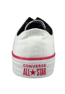 Converse Chucks 161424C Weiss Chuck Taylor All Star OX White Pink Pop White – Bild 4