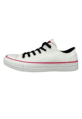 Converse Chucks 161424C White Chuck Taylor All Star White OX Pink Pop White – Bild 3