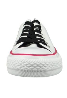Converse Chucks 161424C White Chuck Taylor All Star White OX Pink Pop White – Bild 6