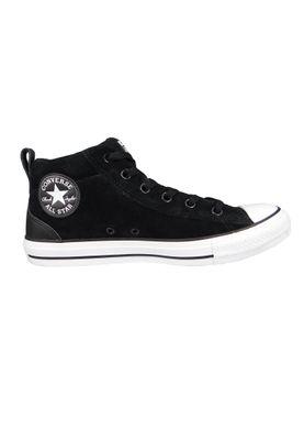 Converse Chucks 161465C Schwarz CHUCK TAYLOR ALL STAR Street Mid Black Blk White – Bild 5
