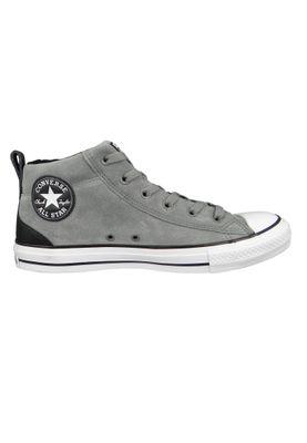 Converse Chucks 161466C Grau CHUCK TAYLOR ALL STAR Street Mid Mason Black White – Bild 5