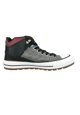 Converse Chucks 161470C Grau CHUCK TAYLOR ALL STAR Street Boot HI Mason Black Dark Burgundy – Bild 4