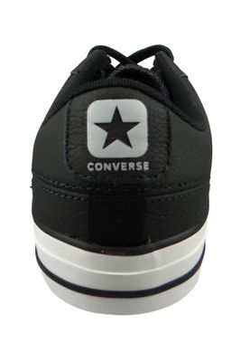 Converse Chucks 161596C Star Player OX Schwarz Black Wolf Grey – Bild 3