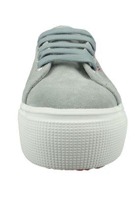 Superga Schuhe Sneaker 2790 COTU Plateau Wildleder Grau LT Grey S003LM0 – Bild 5