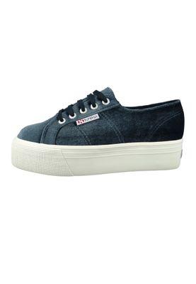 Superga Shoes Sneaker 2790 Velvetpolyw Plateau Velvet Gray S00DJH0 – Bild 2