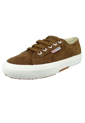 Superga Schuhe Sneaker 2750 COTU Suede Wildleder Braun Coffee Brown – Bild 1