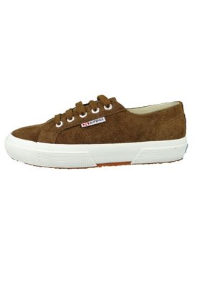 Superga Schuhe Sneaker 2750 COTU Suede Wildleder Braun Coffee Brown – Bild 2