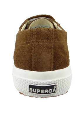 Superga Schuhe Sneaker 2750 COTU Suede Wildleder Braun Coffee Brown – Bild 3