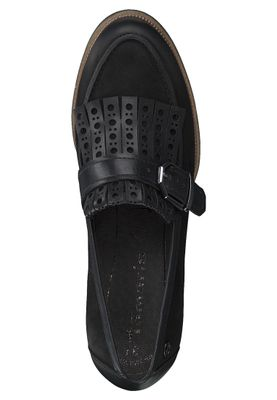 Tamaris 1-24306-21 001 Damen Black Schwarz Slipper mit TOUCH-IT Sohle – Bild 5