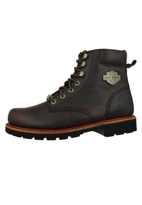 Harley Davidson Biker Boots D93424 Vista Ridge Engineer Boots Brown Brown – Bild 2