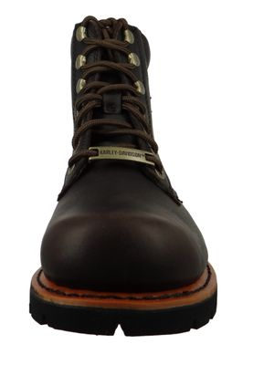 Harley Davidson Biker Boots D93424 Vista Ridge Engineer Boots Brown Brown – Bild 5