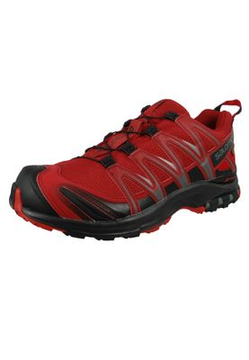 Salomon Schuhe XA Pro 3D GTX Gore Tex 404722 Bordeaux Red Dahlia Black Barbados Cherry – Bild 1