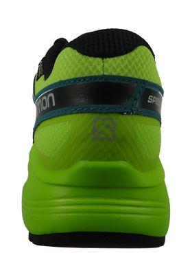 Salomon Schuhe Speedcross 4 Vario 2 GTX Gore -Tex Laufschuhe 404945 Grün Deep Lagoon Black Lime Green – Bild 4