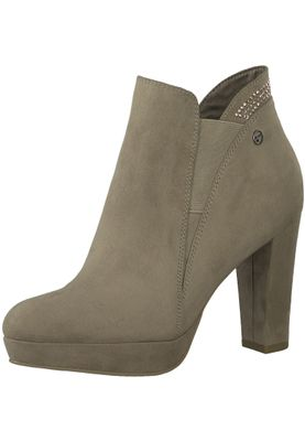 Tamaris 1-25323-21 375 Damen Antelope Beige Stiefelette High Heeled Ankle Boot – Bild 1