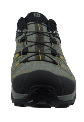Salomon Schuhe X Ultra 3 GTX Laufschuhe Trail Hiking 402422 Khaki Castor Gray Beluga Green Sulphur – Bild 3