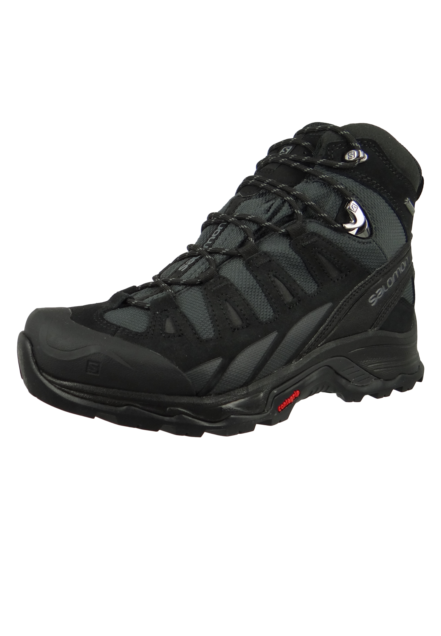Salomon Schuhe Wanderschuhe Quest Prime GTX® 404637 Schwarz Phantom Black Quiet Shade