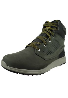 Salomon Winter Schuhe Utility Winter CS WP 404798 Grau Beluga Black Green Sulphur – Bild 1