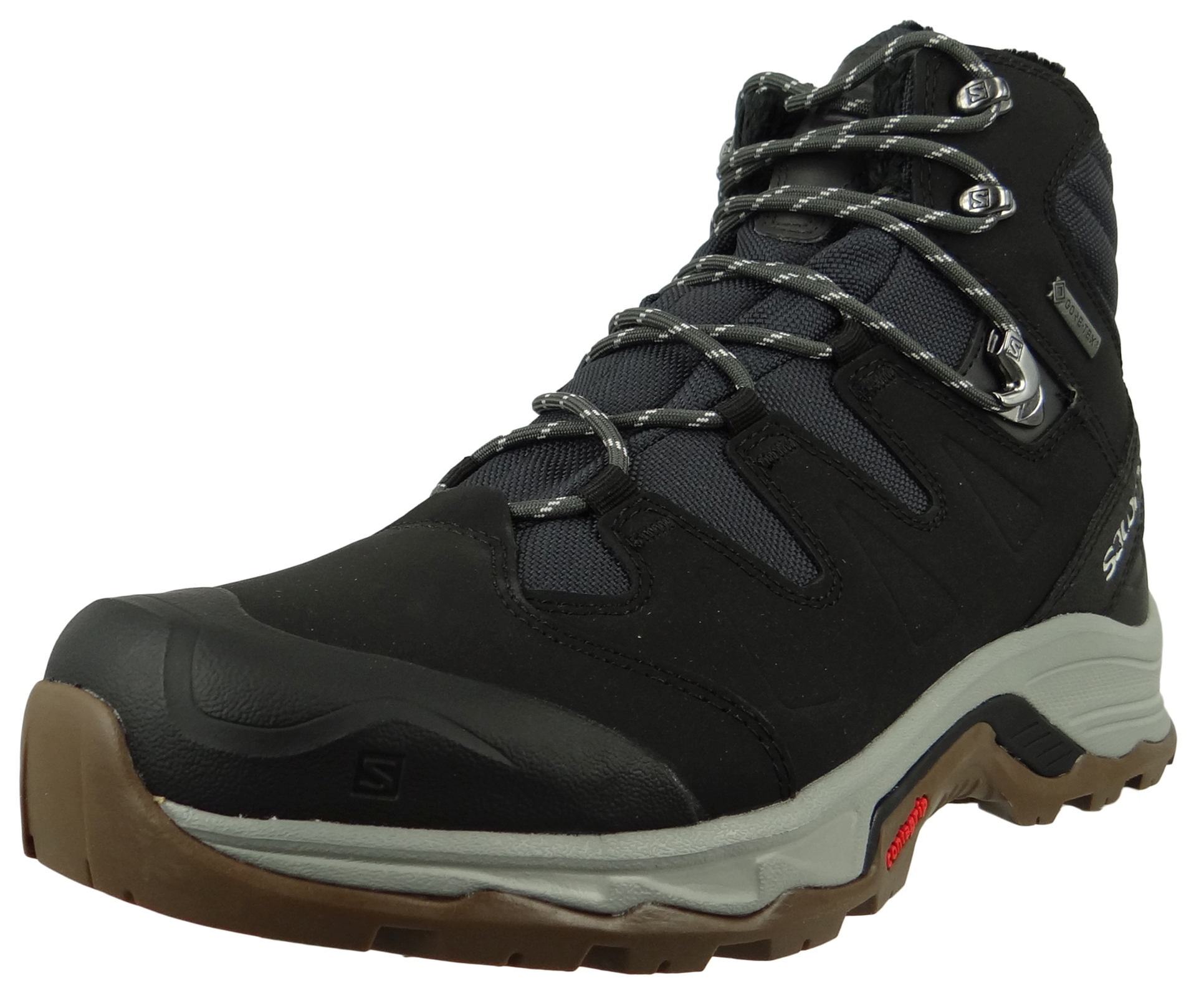 Salomon Schuhe Wanderschuhe Quest Winter GTX® 398547 Schwarz Phantom Black Vapor Blue
