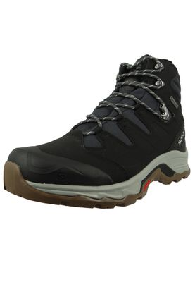 Salomon Schuhe Wanderschuhe Quest Winter GTX® 398547 Schwarz Phantom Black Vapor Blue – Bild 1