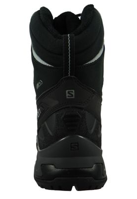 Salomon Schuhe X Ultra Winter CS WP 404794 Schwarz Black Phantom Monument – Bild 3