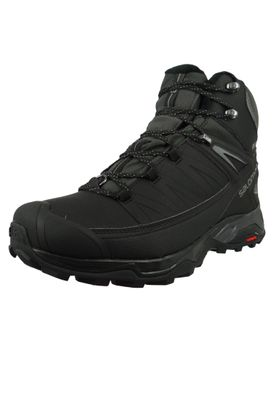 Salomon Schuhe X Ultra Winter Mid CS WP 404795 Schwarz Black Phantom Quiet Shade – Bild 1