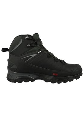Salomon Schuhe X Ultra Winter Mid CS WP 404795 Schwarz Black Phantom Quiet Shade – Bild 2