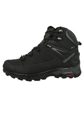 Salomon Schuhe X Ultra Winter Mid CS WP 404795 Schwarz Black Phantom Quiet Shade – Bild 5