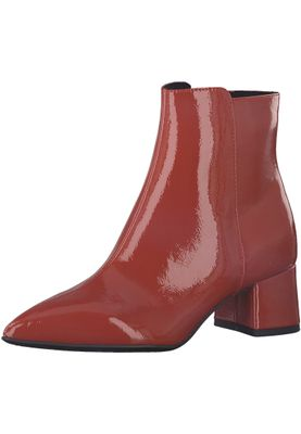 Tamaris 1-25371-21 520 Damen Chili Patent Rot Stiefelette mit TOUCH-IT Sohle – Bild 1