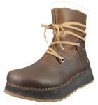 Art Leather Ankle Boot Lined Ankle Boot Heathrow 1024 Brown Adobe Brown 001