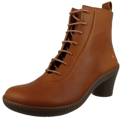 Art Leather Ankle Boots Ankle Boot Alfma Cuero Brown 1444 – Bild 1