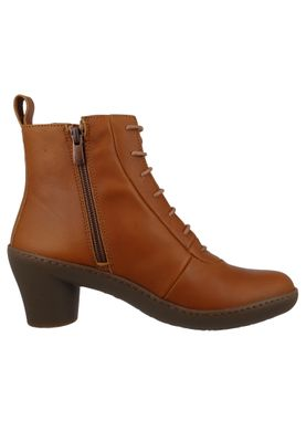 Art Leather Ankle Boots Ankle Boot Alfma Cuero Brown 1444 – Bild 5