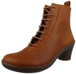 Art Leather Ankle Boots Ankle Boot Alfma Cuero Brown 1444 001