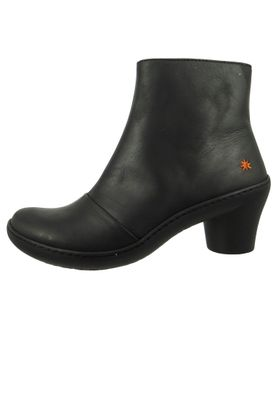 Art Leder Stiefelette Ankle Boot Alfma Black Schwarz 1442 – Bild 3
