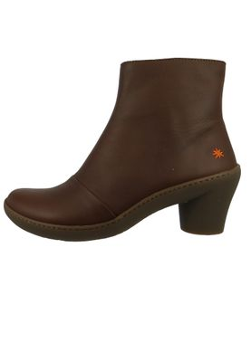 Art Leather Ankle Boots Ankle Boot Alfma Brown Brown 1442 – Bild 2