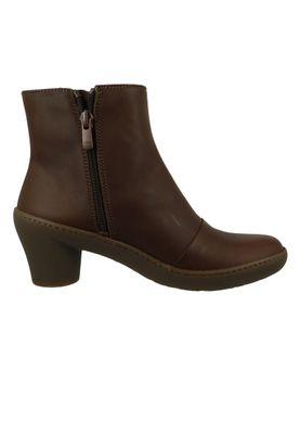 Art Leder Stiefelette Ankle Boot Alfma Brown Braun 1442 – Bild 4