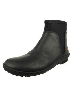 Art Leder Stiefelette Ankle Boot Antibes Black Schwarz 1423 – Bild 1