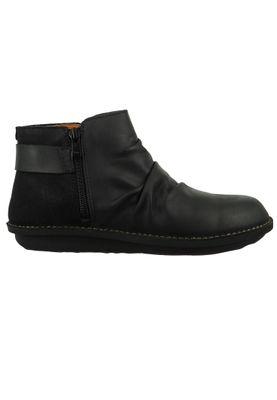 Art Leder Stiefelette Ankle Boot I Explore Black Schwarz 1307 – Bild 4