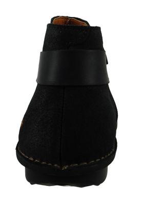 Art Leder Stiefelette Ankle Boot I Explore Black Schwarz 1307 – Bild 3