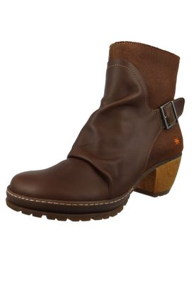 Art Leather Ankle Boot Ankle Boot Oslo Brown 0516 Brown Adobe